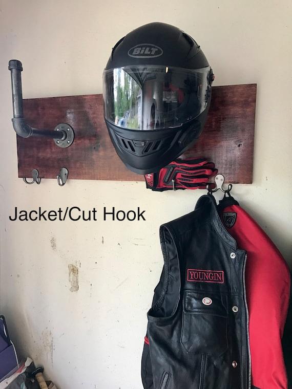 motorcycle helmet holder. Black Bedroom Furniture Sets. Home Design Ideas