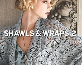 SALE - Vogue Knitting: Shawls & Wraps 2 - knitting patterns, knitting book, stylish