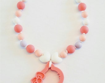 Necklace & toy to kids