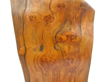 """Sculpture - """"Window to the Soul"""" - 2016 - Abstract Reclaimed Burly Cherry Wood Sculpture - Home Decor - by Artist Benjamin Beckley"""
