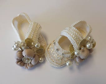 Baby christening, Baby Baptism shoes shoes