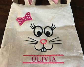 Personalized Bunny Bag  - Kids Bunny Bag