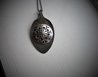 Vintage Spoon Necklace #792