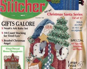 The Cross Stitcher Magazine December 1996