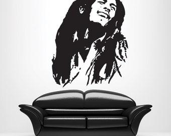 Banksy Self Harm Hoo Knife Wall Art Mural Sticker. Bob Marley Wall Quotes Part 28