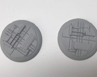 50MM SciFi Base 2 (pack of 2)