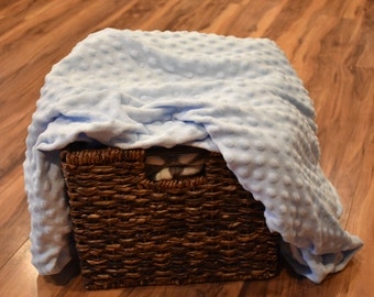 SALE! Minky Fitted Crib Sheet