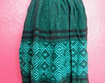 Vintage Woolen Skirt