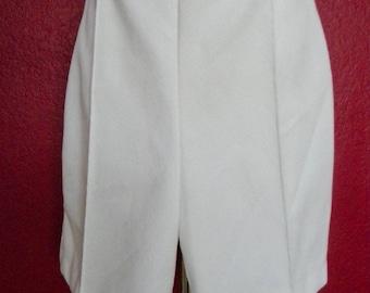 Vintage White Shorts