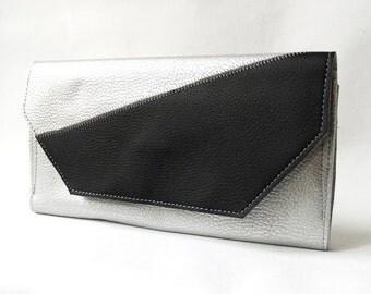 Wallet Silver/Black