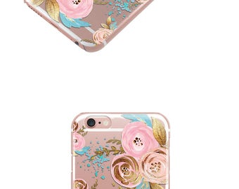 Gold Rose iPhone 7 Case, iPhone 6 Case , iPhone Cases, Samsung Cases, Galaxy S7 Case, Galaxy S7 Edge, Cell Phone - 44