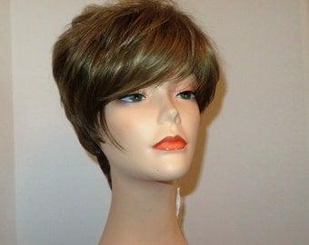 Gia custom styled wig