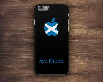 Aye Phone Scottish iPhone Case, Scotland,Saltire iPhone 6 Case, iPhone 6S Case, iPhone 5S Case, iPhone 5 Case, iPhone 5C Case, iPhone 7 Case