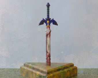 Rusted Master Sword Miniature Prop -  The Legend of Zelda Breath of the Wild