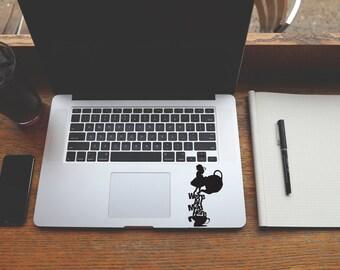 Alice in Wonderland decal sticker for Laptop, Phone, Macbook, Wall art, Car, Mirror, Window, Door  #170