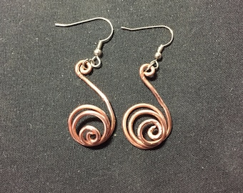 Spiral Dangle (Copper)