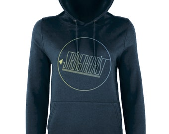 Women's Hooded Sweatshirt Graphic (Circle Logo) - Stringtheorist Official Merchandise