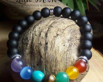 Chakra Healing Bracelet, Chakra Bracelet, Yoga Bracelet, Seven Chakras Bracelet, Healing bracelet, Multi color bracelet