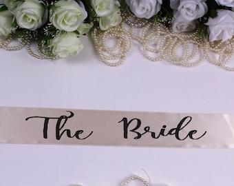 Bride To Be Sash, Bachelorette Sash , Bride Sash, Bride to Be, Wedding Sash, Customized sash, Bachelorette Paty, Bridal Party Sash, Bride