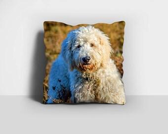 Goldendoodle Pillow, Throw Pillow, Doodle Pillow, Dog Pillow, Labradoodle Pillow, Home Decor, Decorative Pillow, Pillow Case, Pillow Cover