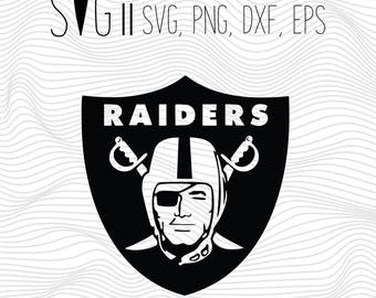 Oakland Raiders SVG Files, Oakland Raiders Cut Files, Oakland Raiders SVG Cutting Files, Oakland Raiders Cuttable SVG File, Instant Download