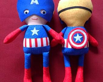Superhero Rag Dolls Marvel