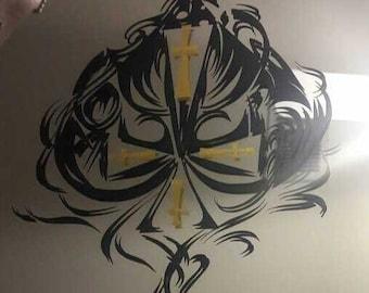 Custom Window Wall vinyl Decals