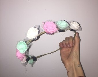 Cute Flower Crown Snapchat Filter Tumblr Aesthetic