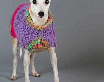 Italian Greyhound, Custom Size, Dog Sweaters, Dog Coats, Dog Winter Coat, Dog Clothes, Dog Clothing, Italian Greyhounds, Sweaters for Dogs