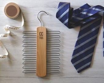 Hanger tie racks, clothes hanger, tie portacravatta hanger