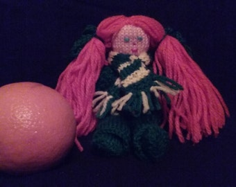 Ginger - Knitted Doll