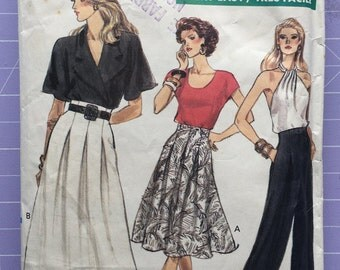 Vintage 1980s Vogue Very Easy Pattern 7416, Size 12-14-16