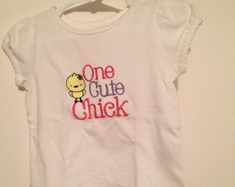 Girls' Easter shirt
