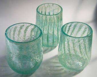 Sea Foam Drinking Glasses