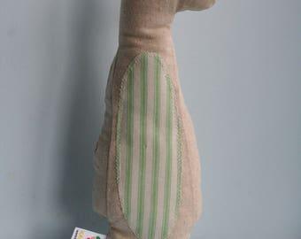 Handmade Soft Toy Meerkat, plushie, babyshower gift, kidstoy, plush doll, children toys, kidsroom, soft doll, handmade gift, handmade toy