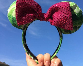 Animal Kingdom Minnie Mouse Ears
