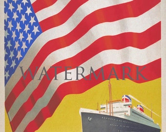 United States Lines to America