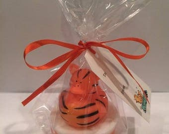 Custom Rubber Duck Soap- Zoo- Tiger