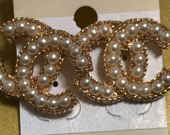 Cc Chanel earrings