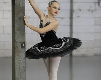 Professional Stretch Velvet Couture Classical Ballet Tutu