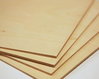 "1/8"" (3mm) - 12x24 Baltic Birch Plywood - 22 Sheets"