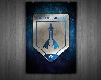 MASS EFFECT ANDROMEDA pathfinder wall art