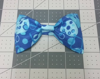 Blue Clip-on bow ties