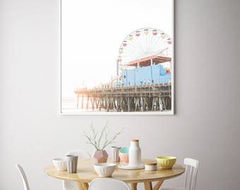 Golden Ferris Wheel  / Fine Art Photography by Christina of Hello Blue Photo