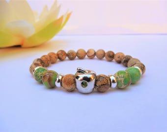 apple jewelry apple bracelet summer bracelet hippie jewelry cool gifts for her ladies bracelet fruit jewelry hippie bracelet for girls gift