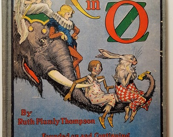 Kabumpo in Oz. Post 1935 edition with B & W illustrations (c.1922)