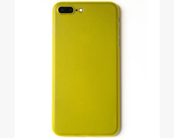 Super Thin iPhone 7 Plus Case | Yellow - SimpliCase