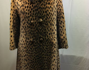 Vintage 1950's/60's Leopard Print Travelcoats by Naman