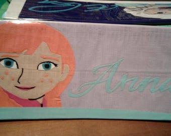 Frozen's Anna Duct Tape Clutch Wallet