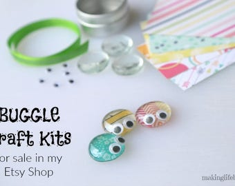 BUGGLES Craft Kits (Mini Kit), Love Bugs Craft for Valentine's Day